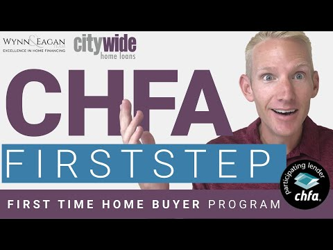 CHFA FirstStep - First Time Home Buyer Program