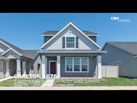 CBH Homes   Carlton 1676   3 Bed, 2.5 Bath, 2 Car Alley Garage