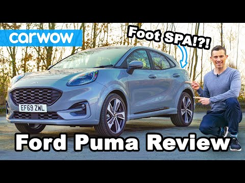 The Ford Puma Has An Onboard Foot SPA! REVIEW