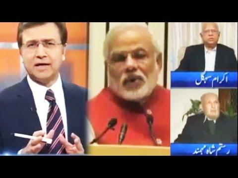 Modi ka Sartaj Aziz pe War - Tonight With Moeed Pirzada - 4 December 2016