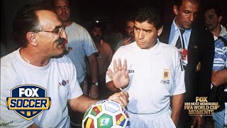 59th Most Memorable FIFA World Cup™ Moment: Maradona's inglorious goodbye | FOX SOCCER