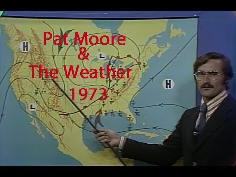 Pat Moore and the Weather WFLA-TV (NBC) 1973