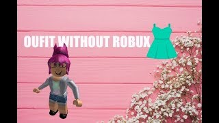 Roblox| OUTFIT WITHOUT ROBUX!