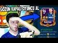 GÖZÜN KAPALI OYUNCU AL !! (96 SKRINIAR) FIFA Mobile Çark Challenge