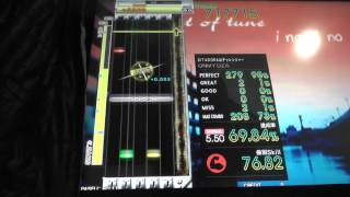 『GITADORA Tri-Boost GuitarFreaks』 Micro fin (Rotten Blotch) (EXTREME GUITAR 5.50)