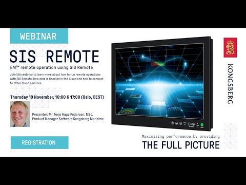 Webinar - SIS Remote