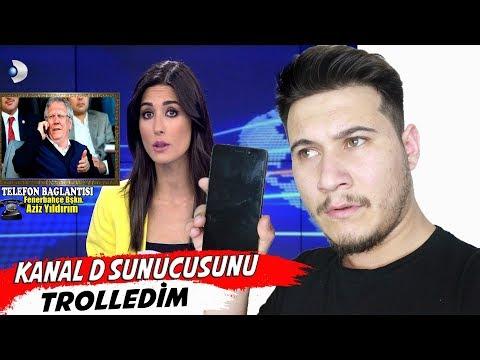 KANAL D HABERİ AZİZ YILDIRIM SESİYLE TROLLEDİM !