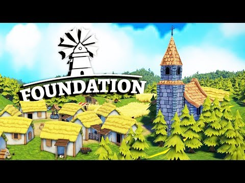 Organically Growing a City! - Foundation Gameplay