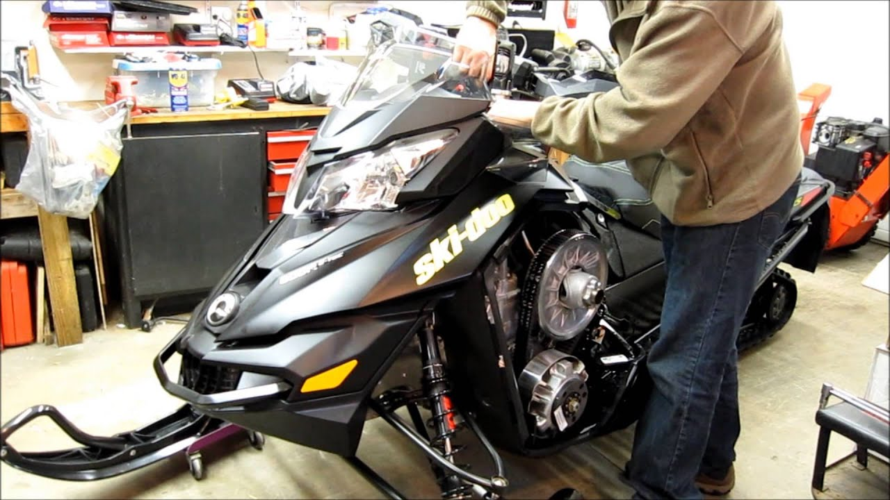 Removing Hood On Brp Ski Doo Xs Xm Youtube Zx600 Wiring Diagram
