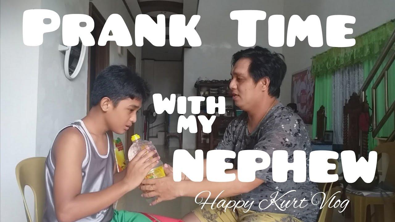 PRANK TIME with My NEPHEW