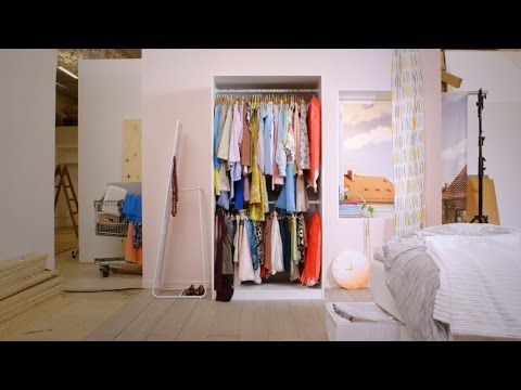 Clean out your wardrobe without the big 'maybe' pile
