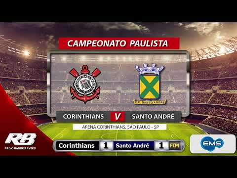 ?Campeonato Paulista - Corinthians X Santo André - 26/02/2020 - AO VIVO