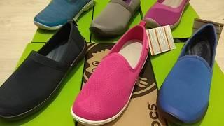 Обзор женских мокасинов Crocs в ассортименте Shoes Dnepr