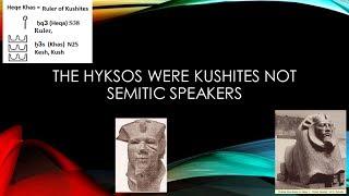 Hyksos the First  Kushite Dynasty of Egypt