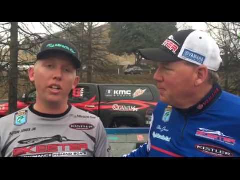 skeet reese jig worm rod Alton & Alton jr... an Elite ...