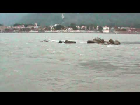 Sound of Indian Holy River Ganges (Rishikesh) (For 1 Hours) (1080p HD)