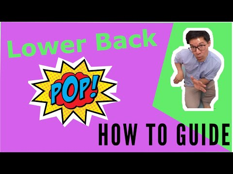 How to Crack Lower Back ( Stretch and Pop Technique )