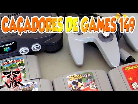 "Caçadores de games # 149 "" Nintendo 64 na caixa por 250,00 """