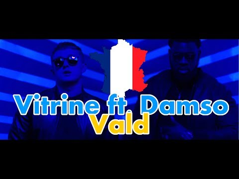 FRANCE RAP REACTION: Vald - Vitrine ft. Damso | German reacts