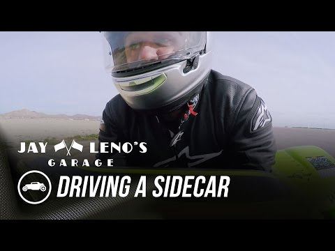 Jay Leno Drives A Sidecar For The First Time – Jay Leno's Garage