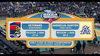 4A Girls Veterans vs. Americus-Sumter (2016)