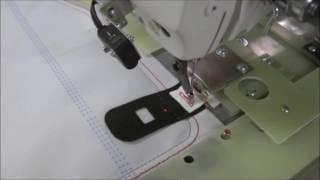 видео: Автоматизированный процесс шитья автомобильных подушек безопасности на базе швейных автоматов Juki