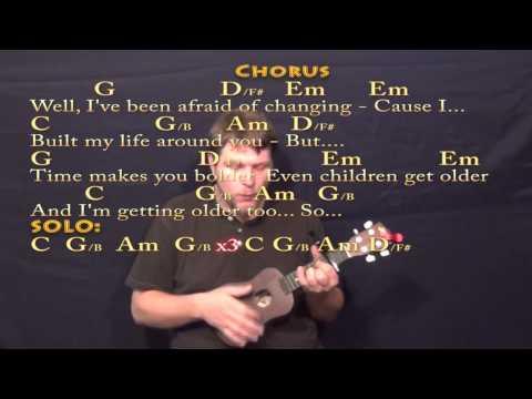 Landslide (Fleetwood Mac) Ukulele Cover Lesson with Chords/Lyrics