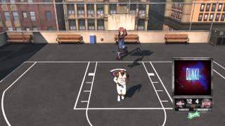 NBA2K15 Kevin Durant VS Lebron James 1v1 Blacktop PS4