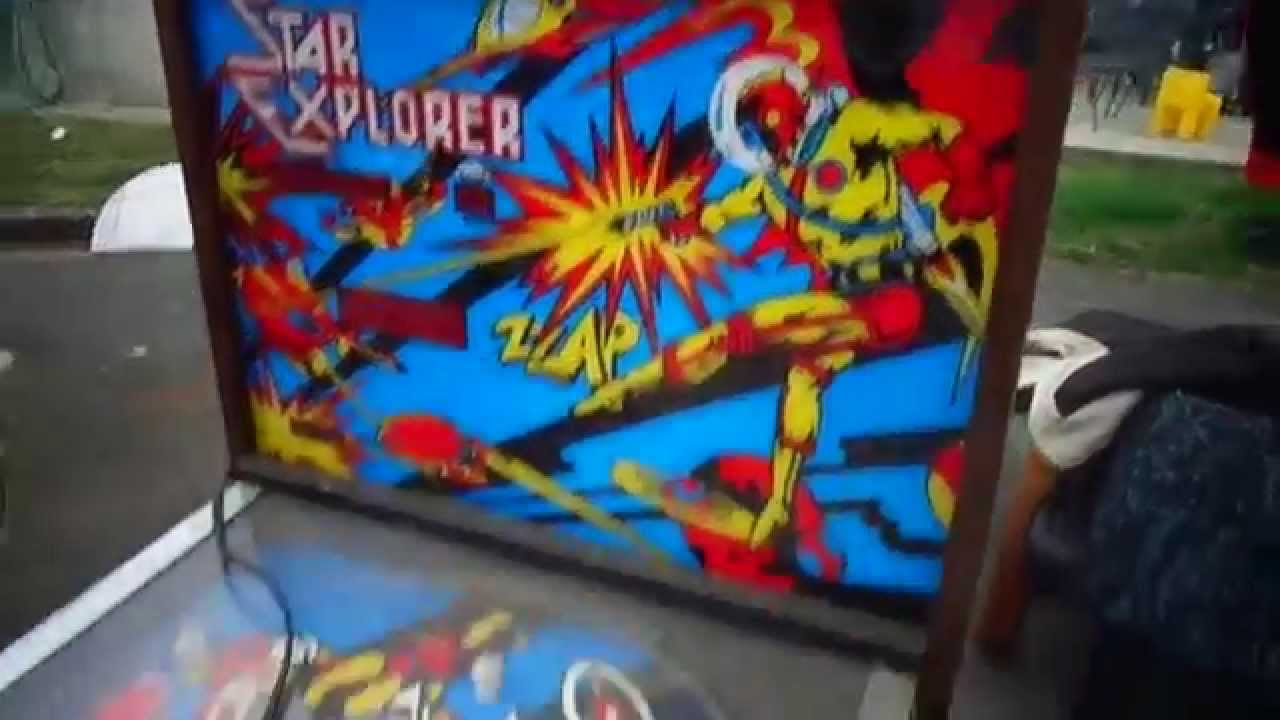 Star Explorer Pinball Machine I saw at a Garage Sale for ...