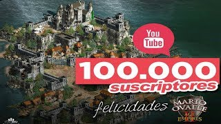 CELEBRANDO 100K CASTEANDO SUBS AGE OF EMPIRES 2