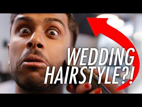 Best Wedding Hairstyle for Men | Asian Men's Hair Video