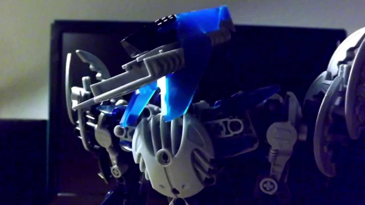 Bionicle Stop Motion Test Rakumo Vs Metron Youtube