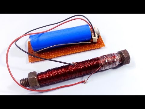 How to make an Electromagnet | Super Strong