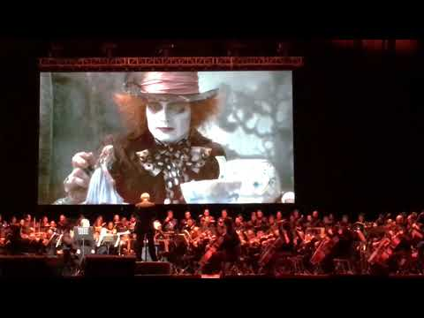 Alice's theme, Danny Elfman, Mexico City Arena