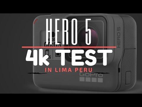 GoPro Hero 5:  4k test in Lima Peru