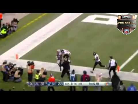 Brandon LaFell 23 Yrad Touchdown vs Ravens (Divisional Playoff 2014)