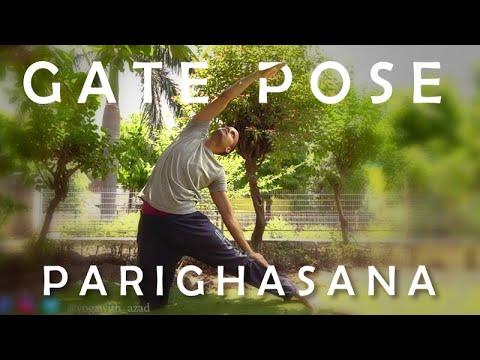 Gate Pose (Parighasana) | Yoga for Beginners