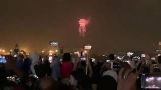 Dubai Festival City Happy New Year 2019 Fireworks Ceremony