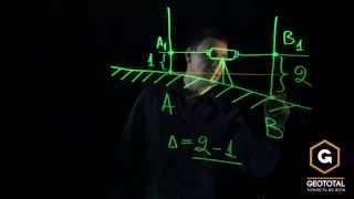 Измерения оптическим нивелиром