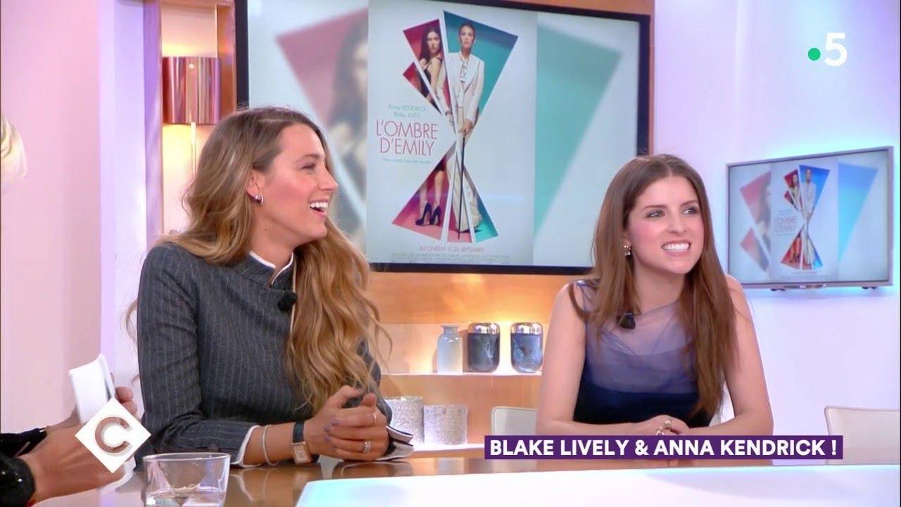Download Blake Lively & Anna Kendrick ! - C à Vous - 21/09/2018