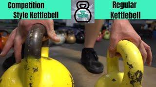 Choosing Competition Kettlebell or Regular KB for your Garage Gym ?