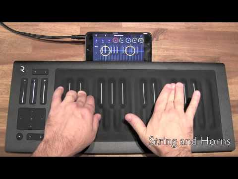App Sound Quick Check: NOISE 5D with Roli Seabord Rise