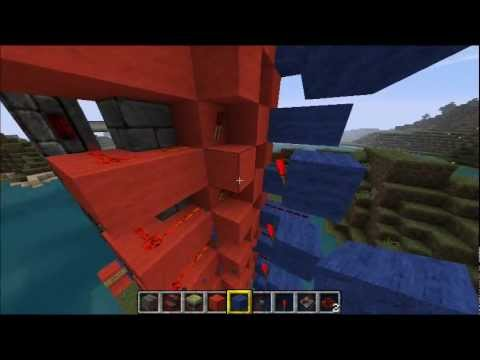Minecraft: 6x6 Up AND Down Elevator TUTORIAL! - YouTube