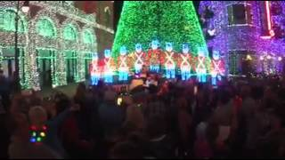 Walt Disney World Osborne Family spectacle of dancing lights opening night lighting 2014