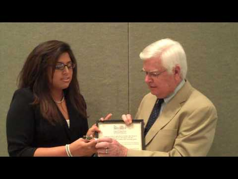 "U.S. Congressman Harold ""Hal"" Rogers Receives A 2009 Youth Programs Star Celebrity Award"