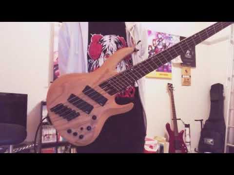 『軌跡 Roselia』ベース弾いてみた - YouTube