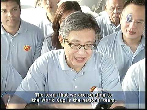 WP's Chen Show Mao ( 陈硕茂) make his first TV appearance for GE - 10Apr2011