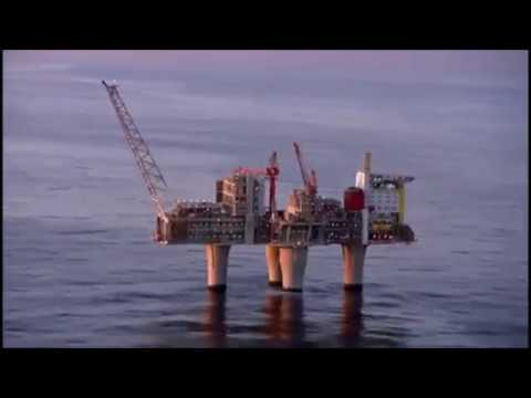 Most Super Rig Troll Gas Platform