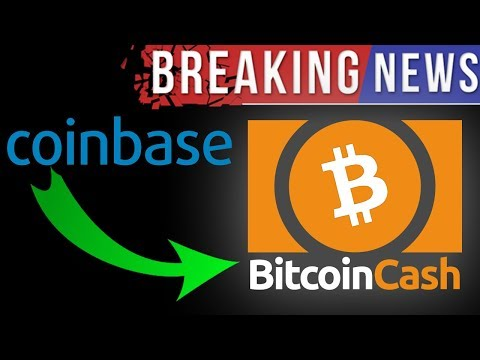 COINBASE ADDS BITCOIN CASH (MASSIVE BUY OPPORTUNITY!!!)