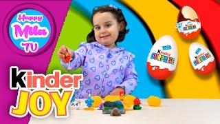 Kinder Surprise Eggs In Canada funny review | HappyMilaTV #151